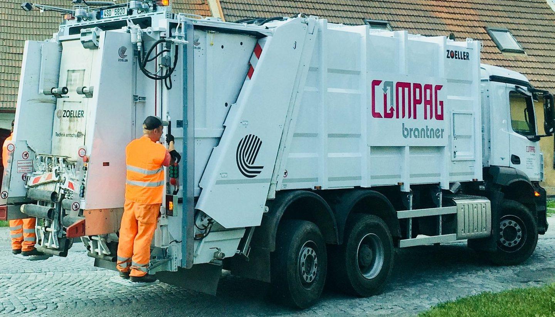 Řidič svozu odpadu